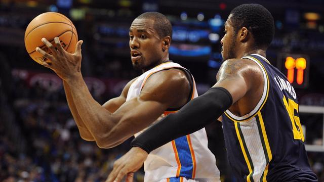 NBA - Thunder beat Jazz, Bulls fall to Clippers