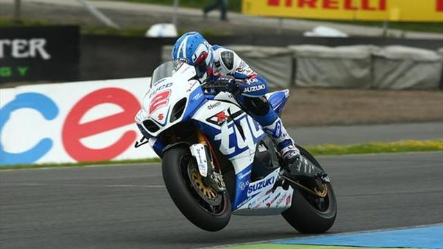 Superbikes - Knockhill BSB: Brookes tops damp final free practice