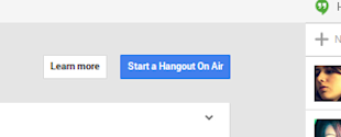 Google Hangouts to Creatively Engage Customers image start hangout