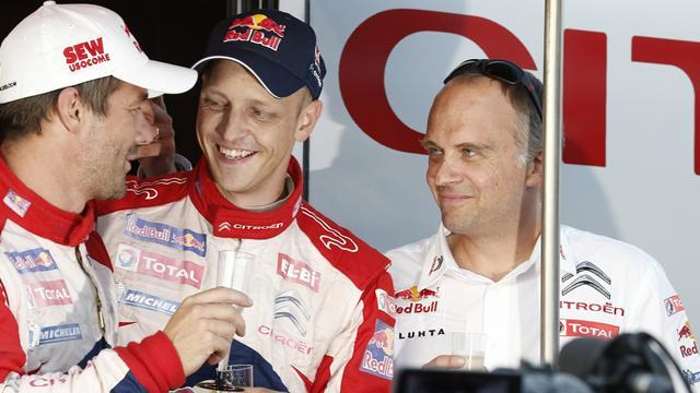 WRC - Loeb: Hirvonen, Ogier to fight for WRC title