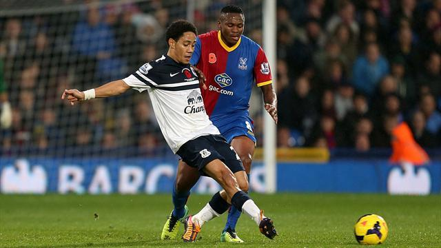 Premier League - Improved Palace hold Everton to draw