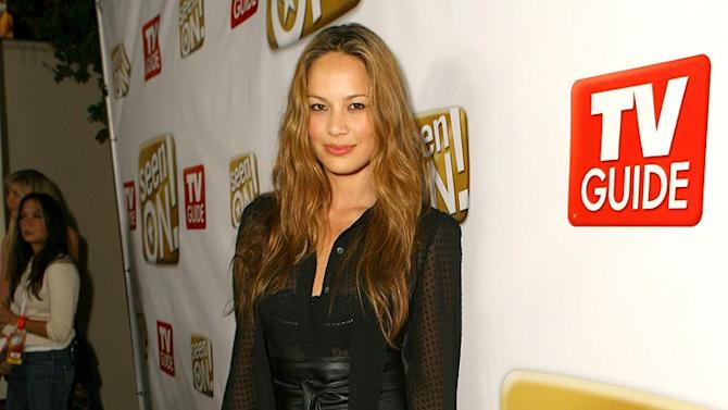 Moon Bloodgood of Journeyman at The SeenON.com Launch Party.
