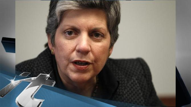 WASHINGTON Breaking News: Napolitano Departure Widens DHS Leadership Gap