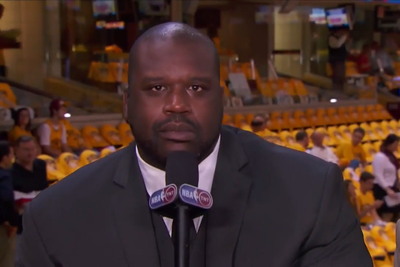 Shaq challenged Ronda Rousey on TNT and Charles Barkley ruined it