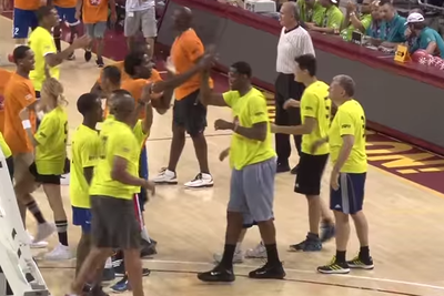 Special Olympics athletes team up with former NBA greats in exhibition game