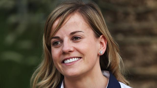 Formula 1 - Susie Wolff to drive in F1 Friday practice sessions