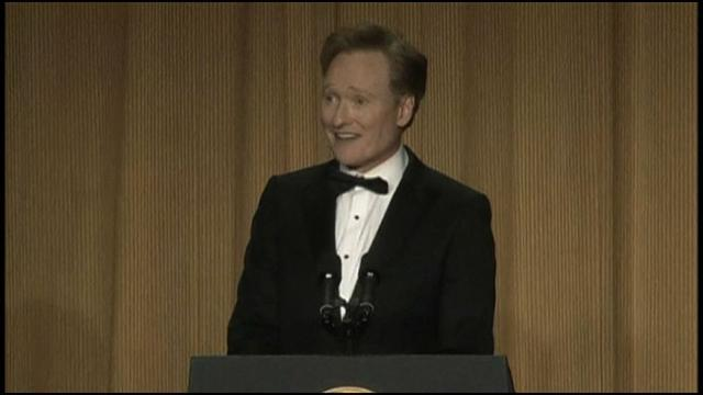 Conan O'Brien at the White House Correspondents' Dinner