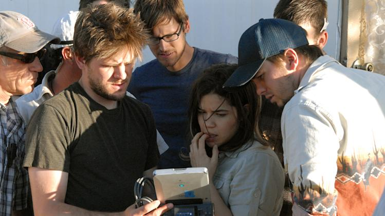 Director Ryan Piers Willams America Ferrera Jason Ritter The Dry Land Production Stills Maya 2010