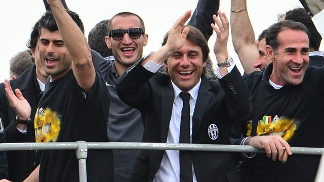 Serie A - Coach Conte will stay with Juventus