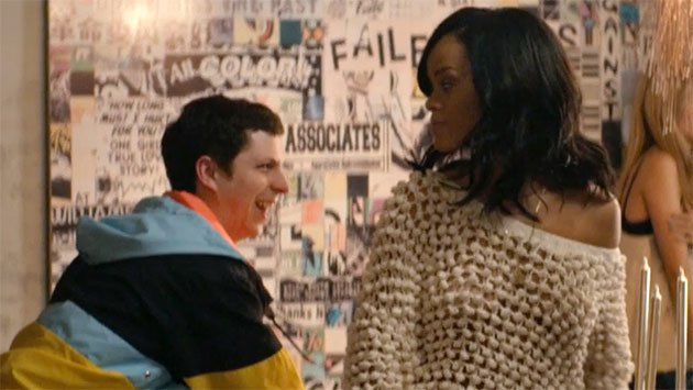 Michael Cera and Rihanna