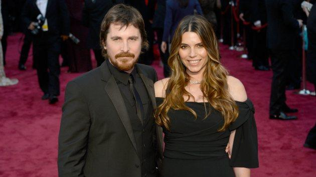 Christian Bale and wife Sibi -- Getty Images