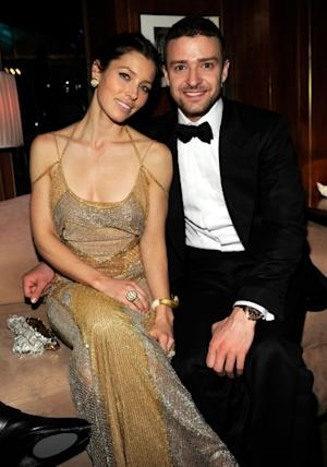 After dating on and off since 2007, Justin Timberlake and Jessica Biel became engaged in December 2011 -- Getty Images