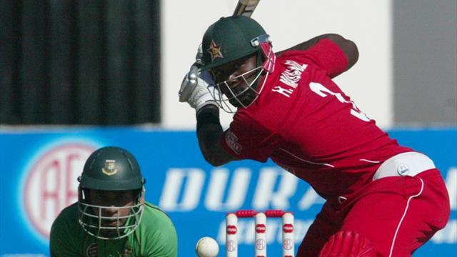 Cricket - Three dropped from Zimbabwe squad for India ODI series