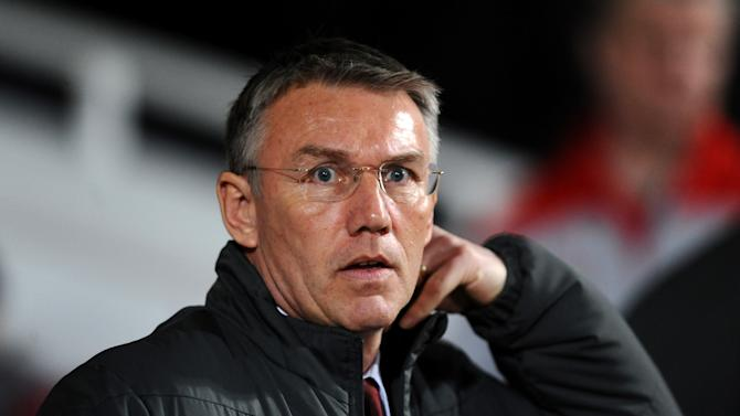 Nigel Adkins is focusing on turning things round at Southampton