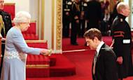Kenneth Branagh Knighted At Buckingham Palace
