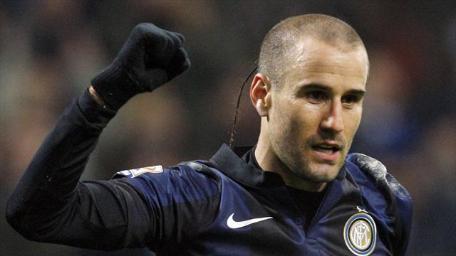 Serie A - Palacio signs two-year extension with Inter Milan