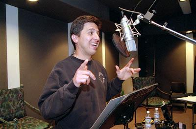 Ray Romano voices Manfred the Mammoth in 20th Century Fox's Ice Age