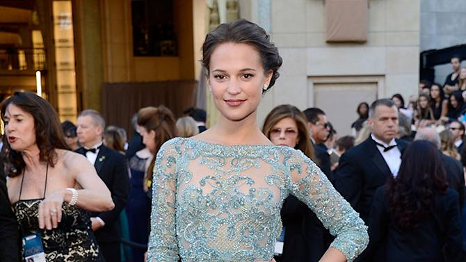 85th Annual Academy Awards - Arrivals: Alicia Vikander