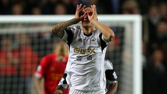 Premier League - Shelvey the hero and villain as Liverpool go top
