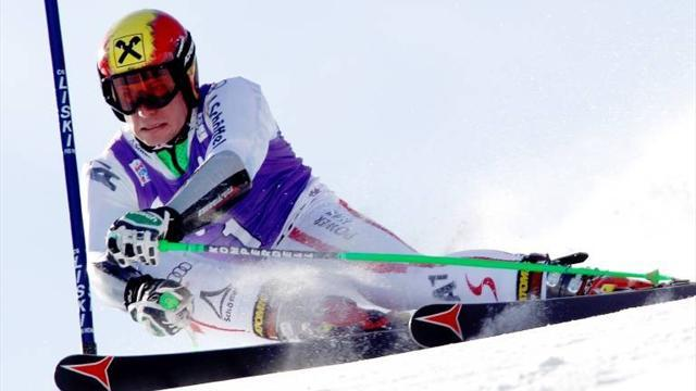 Alpine Skiing - Hirscher wins again in Adelboden