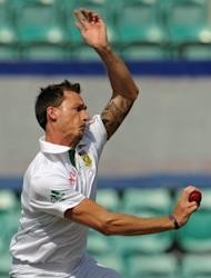 South Africa's Dale Steyn bowls during a cricket tour match against Australia 'A' on November 4. Steyn and Vernon Philander are likely to be backed up by Morne Morkel, all-rounder Jacques Kallis and leg-spinner Imran Tahir in South Africa's first Test in Brisbane in 49 years