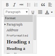 6 Tips To Make Your Blog Posts More Readable image Change Paragraph Settings to Increase Font SIze