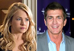 Britt Robertson, Joe Lando | Photo Credits: Sergei Bachlakov/The CW, Alberto E. Rodriguez/Getty Images