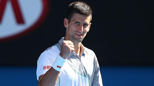 Australian Open - Imperious Djokovic canters into quarters
