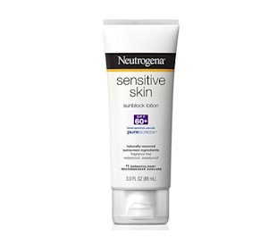 Neutrogena Sensitive Skin Sunblock Lotion 60+