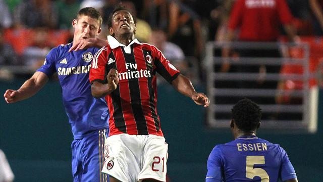 Milan midfielder ends international exile