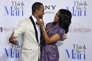 """Terrence J and Regina Hall arrive at the Screen Gems premiere of 'Think Like A Man' in February 2012 in Hollywood, California. The ensemble comedy """"Think Like A Man,"""" that garnered mediocre reviews, made $33 million in its opening weekend, according to box office tracker Exhibitor Relations"""