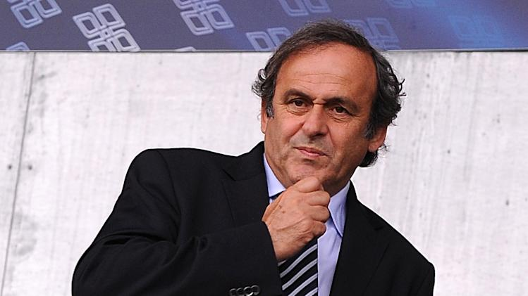 Michel Platini was shocked by the scenes witnessed in Serbia last week