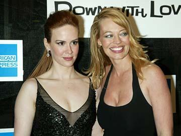 Sarah Paulson and Jeri Ryan Down With Love Premiere Tribeca Film Festival, 5/6/2003