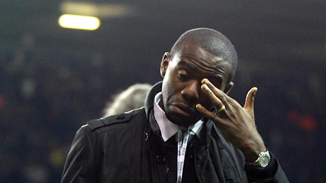 Fabrice Muamba was back at White Hart Lane on Thursday night