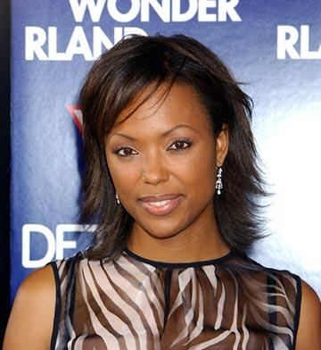 Aisha Tyler at the LA premiere of Lions Gate's Wonderland