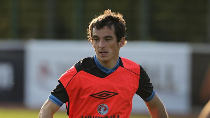 Leighton Baines is set to start for England in Friday's World Cup qualifier with Moldova