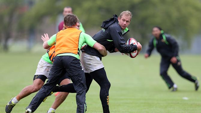 South Africa Rugby Union Sevens Team Training
