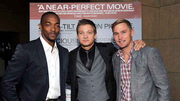 The Hurt Locker Premiere 2009 Anthony Mackie Jeremy Renner Brian Geraghty