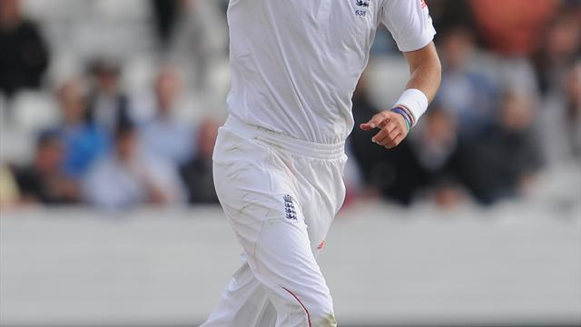 Cricket - Broad awaits scan results