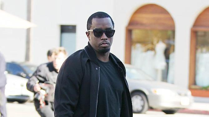 Sean Combs Tea Store Beverly Hills