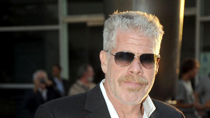 "Ron Perlman attends FX's ""Sons Of Anarchy"" Season 3 premiere on August 30, 2010, in Hollywood."