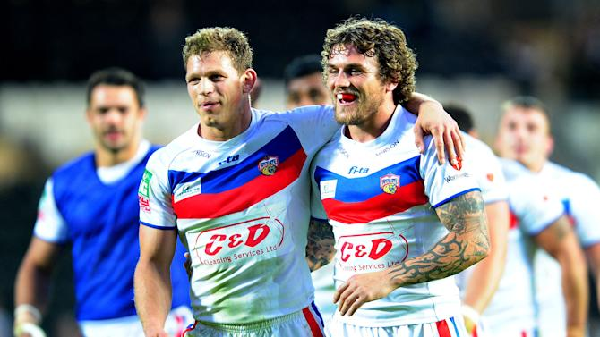Rugby League - Super League - Hull v Wakefield Wildcats - KC Stadium