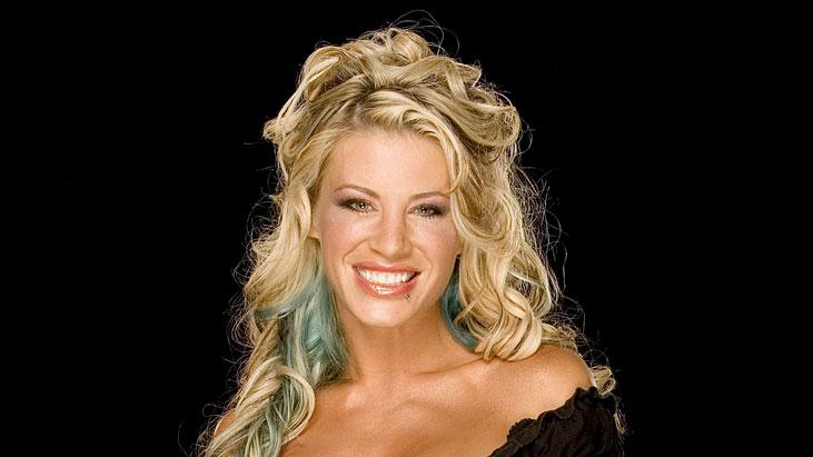 WWE Smackdown Superstar Ashley Massaro from the CW's Friday Night Smackdown!
