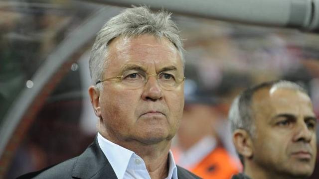 European Football - Hiddink leaves Anzhi, linked to Barcelona job