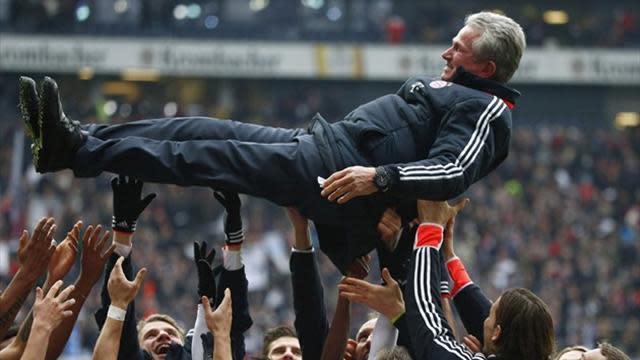 Bundesliga - Heynckes to end Bundesliga coaching career