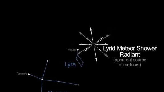 Lyrid Meteor Shower Is Peaking Now