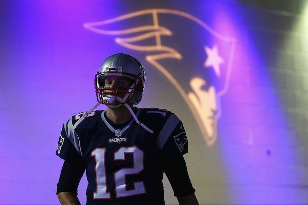 Demoting Tom Brady may seem sacrilegious, but against Denver it's smart. (Getty)