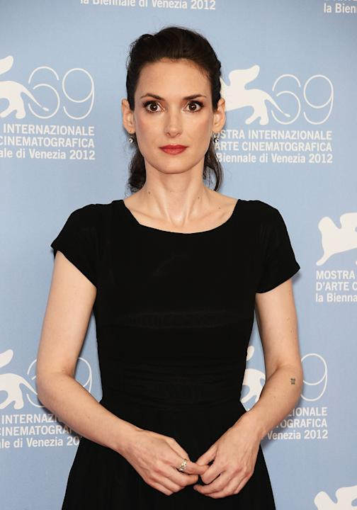 "Despite multiple Oscar nominations and decades spent in the spotlight, Winona Ryder looked like a deer in headlights at the Venice Film Festival while promoting her new movie, ""The Iceman."" At the med"