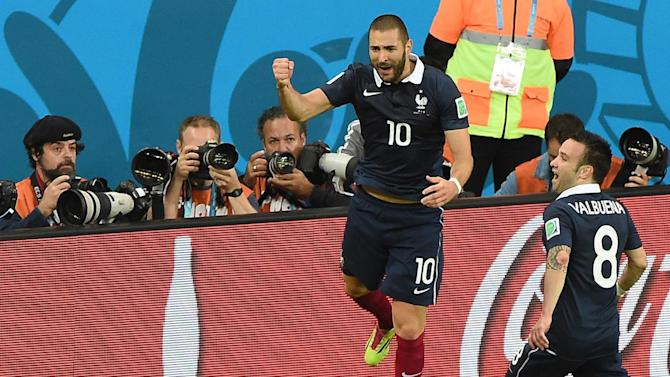 France coach Didier Deschamps makes U-turn over Karim Benzema's international future