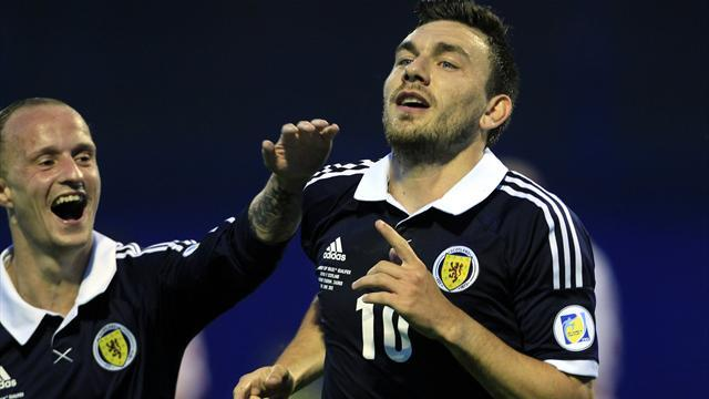 World Cup - Scotland shock Croatia, Belgium move clear